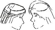 Two young men Bandana 3 Cartoon